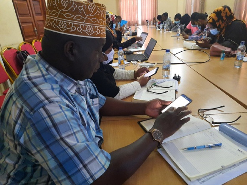 On assignment by the Ministry of Health Zanzibar to development a digital SRHR Services feedback platform for youth!